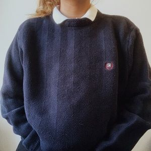 chaps navy blue sweater ✰